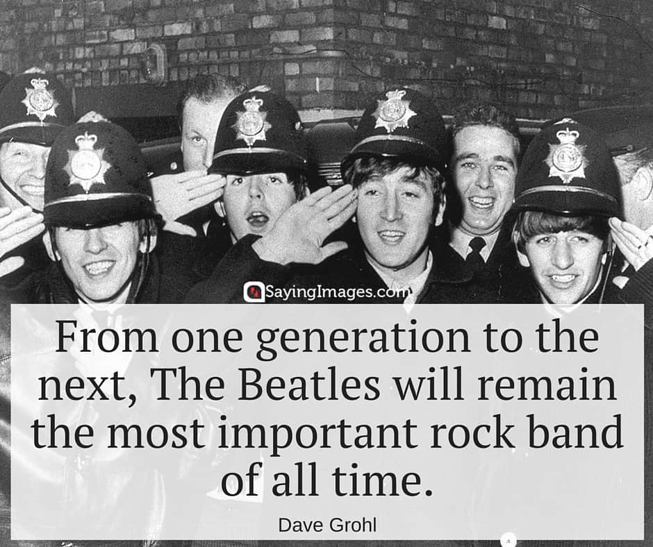 60 Inspirational The Beatles Quotes | SayingImages.com