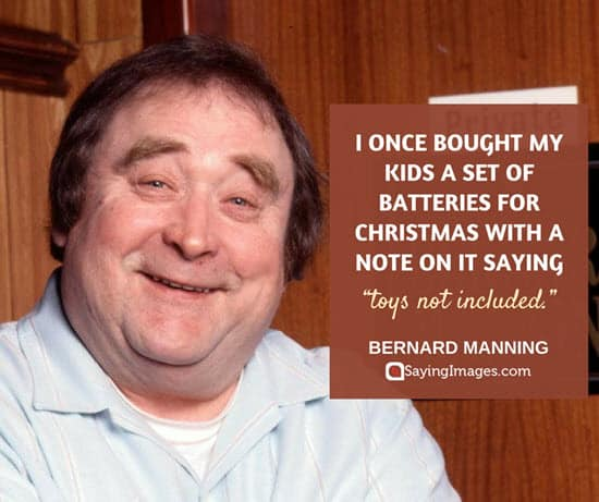 best christmas quotes bernard manning