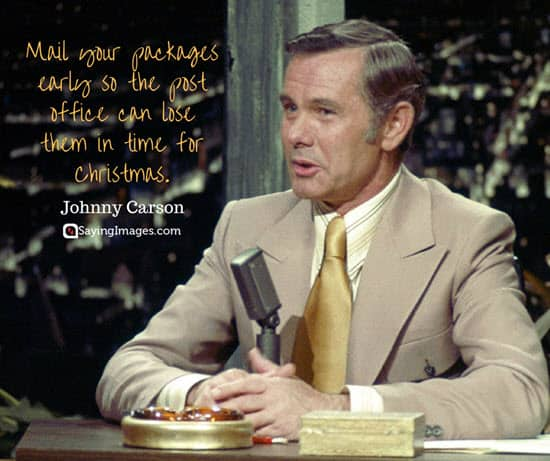 best christmas quotes johnny carson