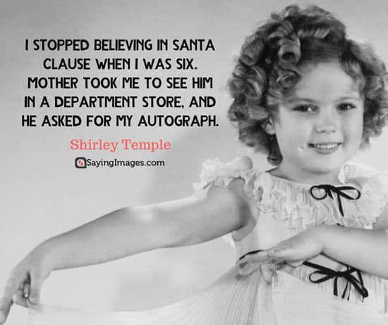 best christmas quotes shirley templer