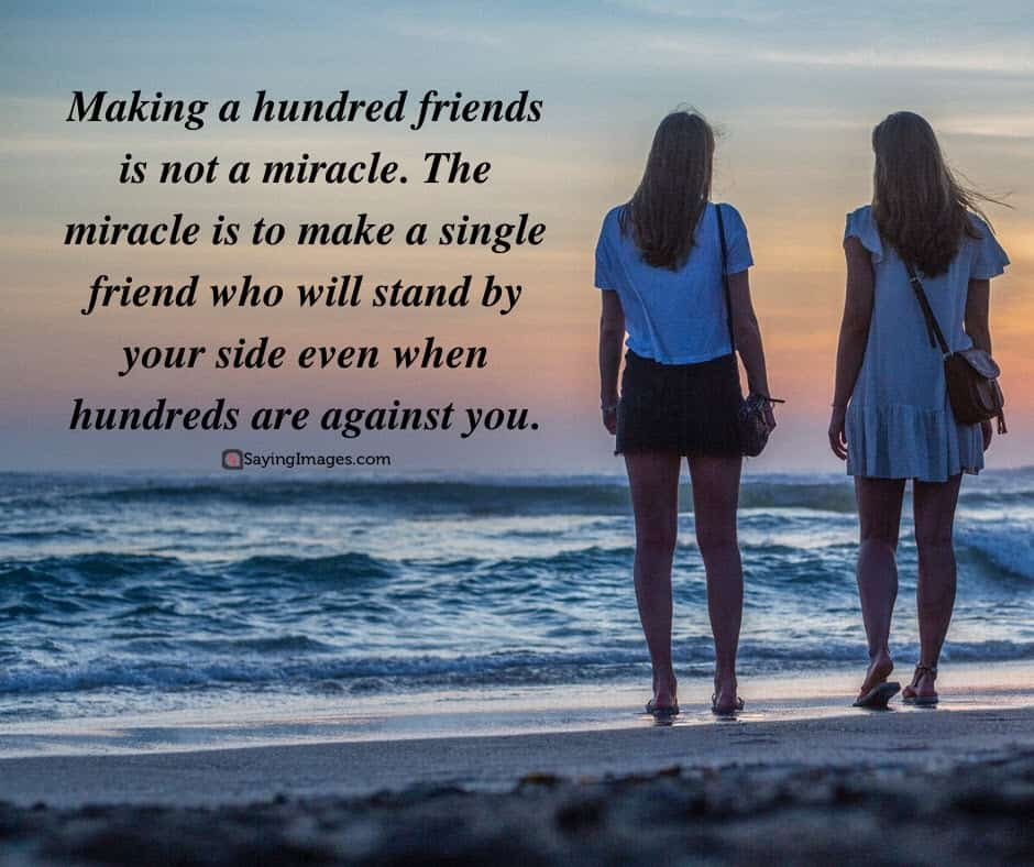 best friend miracle quotes