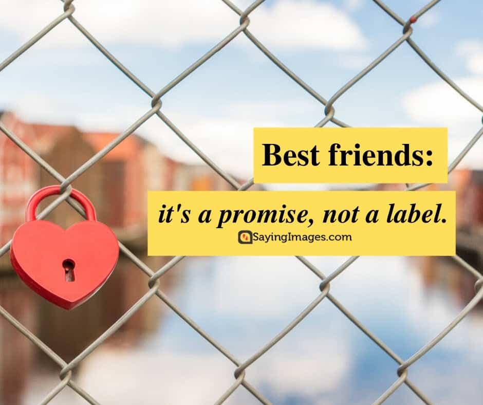 best friend promise quotes