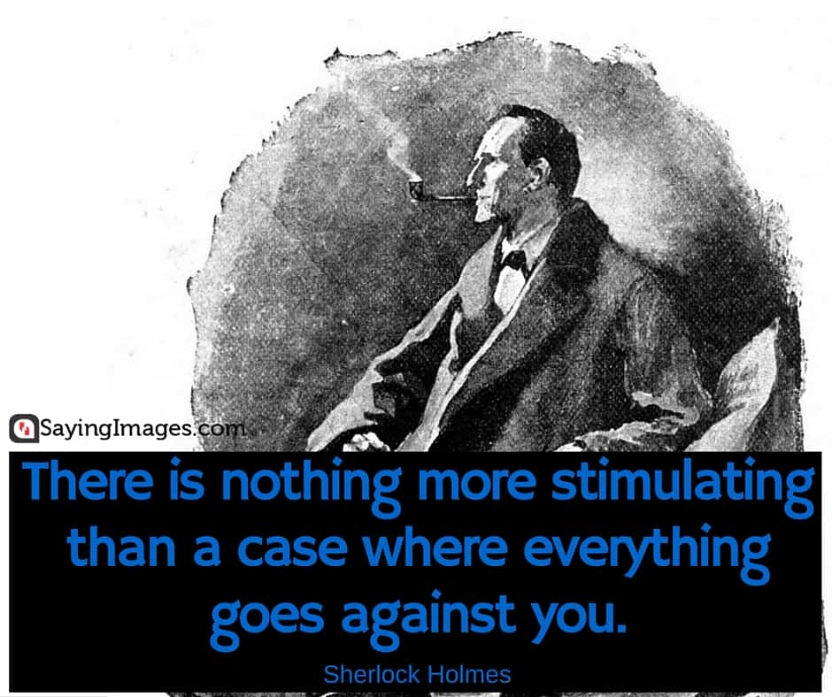 Best Sherlock Holmes Quotes. U201c