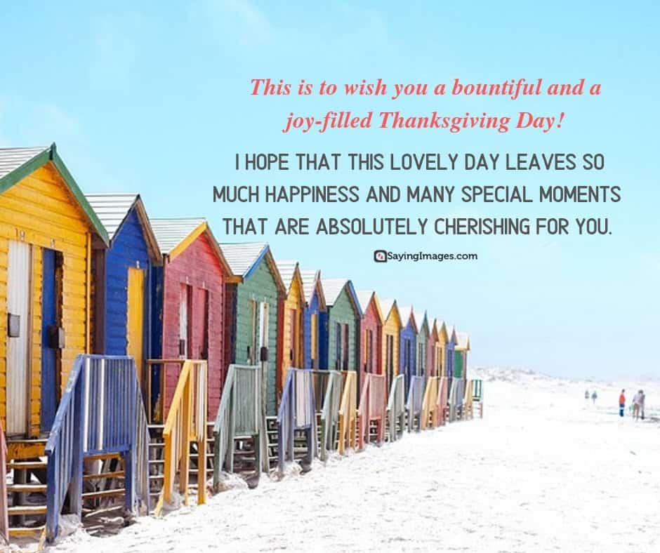 best thanksgiving joy wishes
