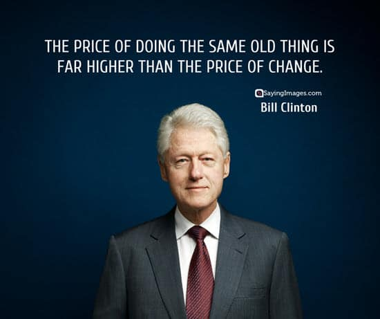 bill clinton change quotes