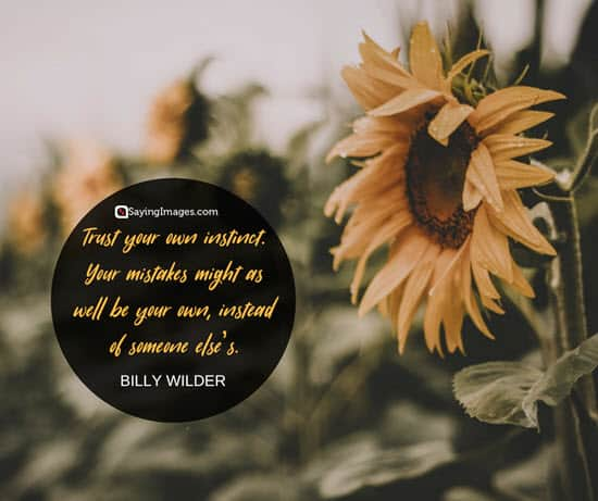billy wilder trust quotes