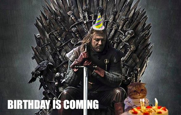 20 Best Birthday Memes For A Game Of Thrones Fan Sayingimagescom