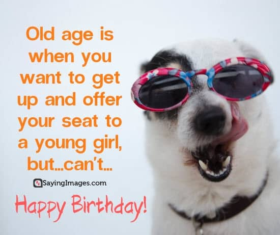 birthday old age wishes