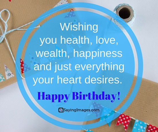 Birthday Quote I Wish That For