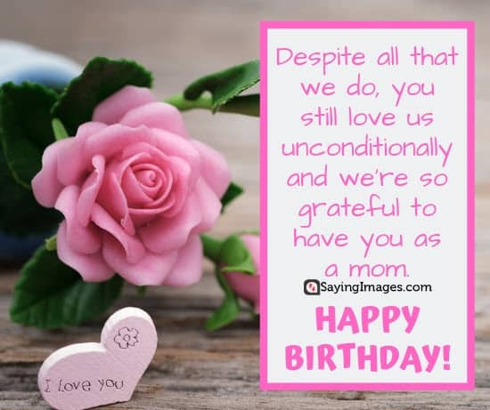 birthday unconditional love wishes