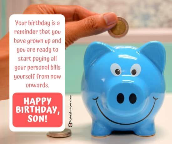 birthday wishes bills son