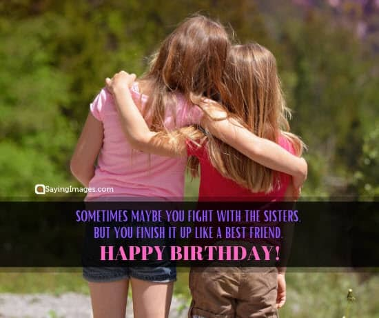 birthday wishes fight sister