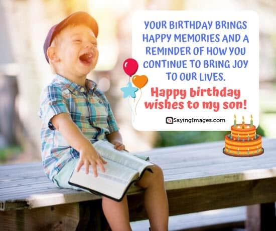 birthday wishes happy son