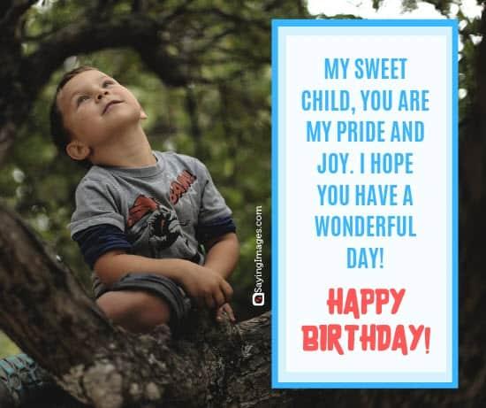 birthday wishes joy son