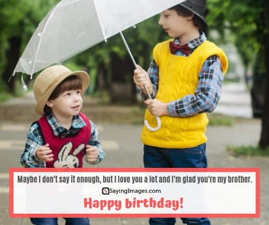 birthday wishes love brother