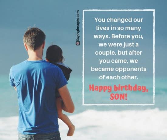 birthday wishes opponents son