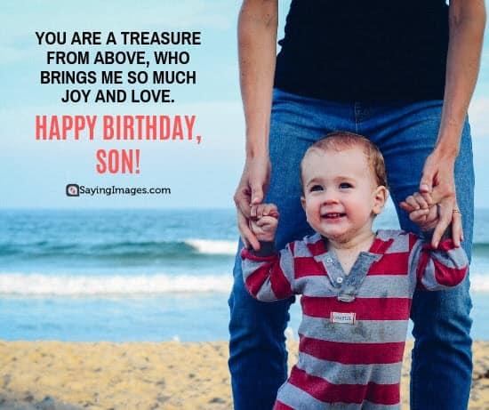 birthday wishes treasure son