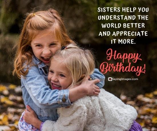 birthday wishes understand sister