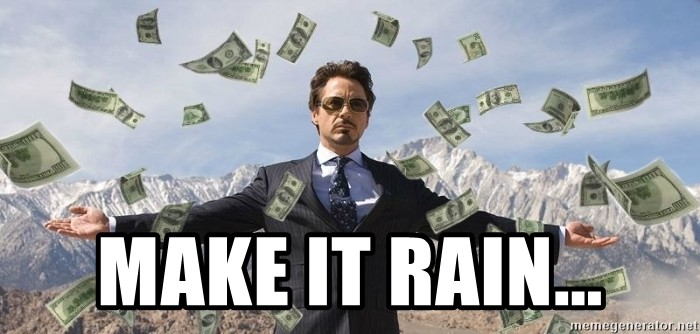 Image result for money make it rain