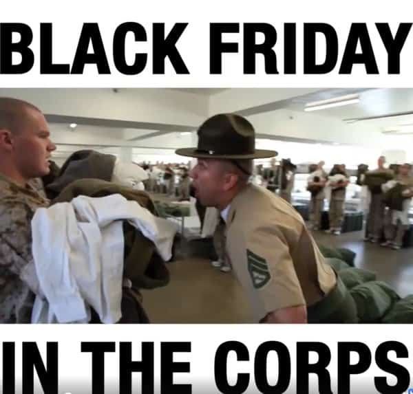 black friday in the corps marine memes