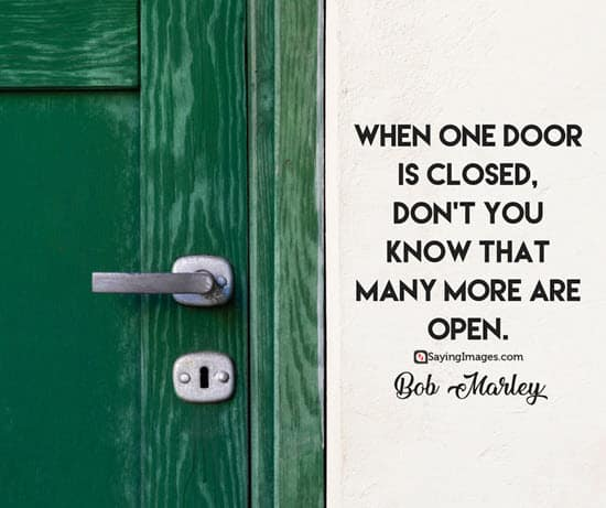 bob marley door quotes