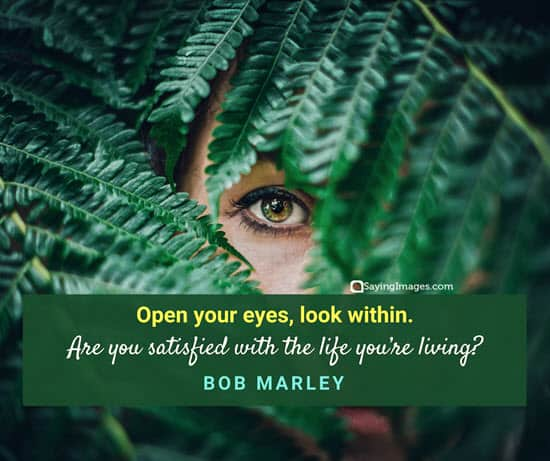 bob marley eyes quotes