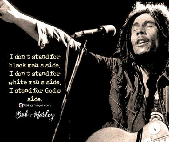 bob marley god quotes
