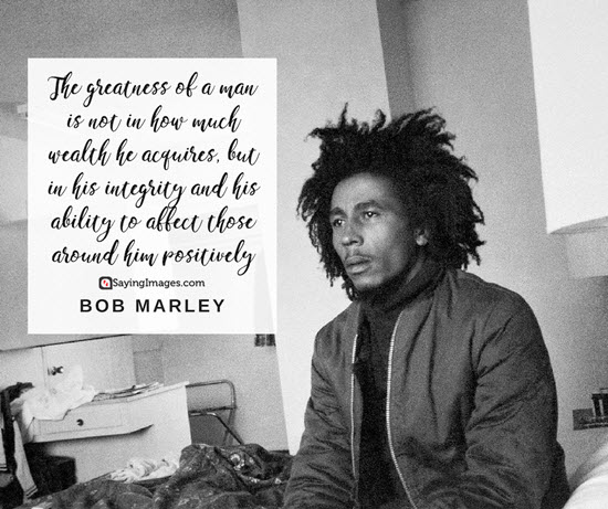 bob marley great quotes