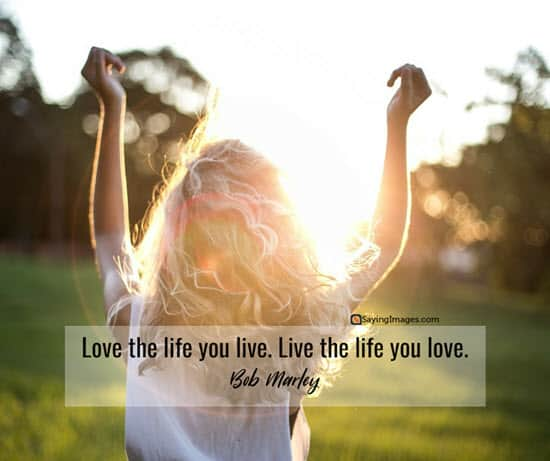 bob marley love life quotes