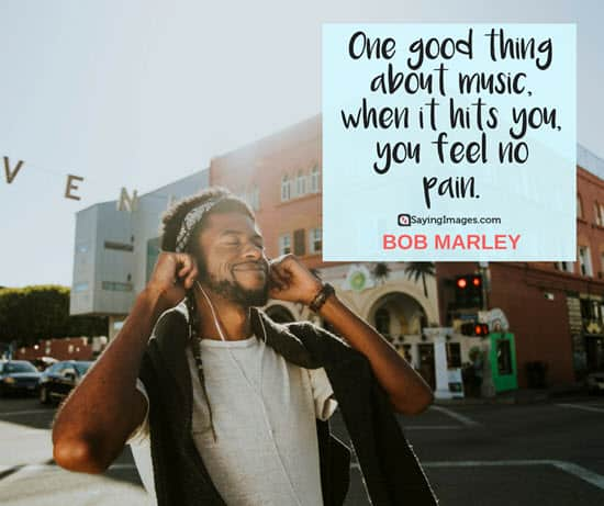 bob marley music quote