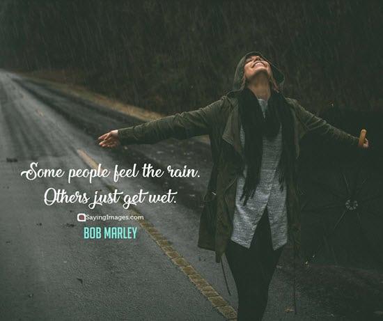 bob marley rain quotes