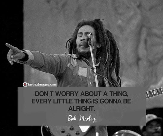 bob marley song quotes