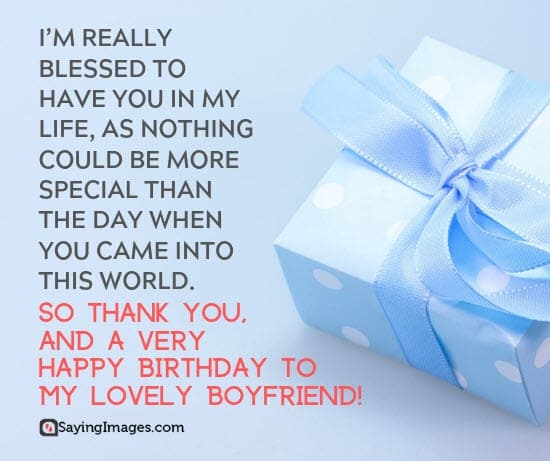 Best Birthday Wishes for Boyfriend