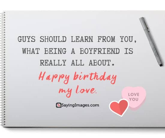 boyfriend birthday guys wishes