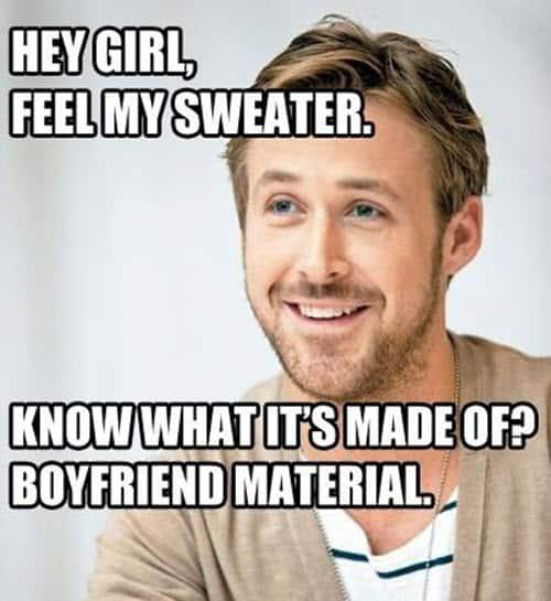 boyfriend hey girl meme