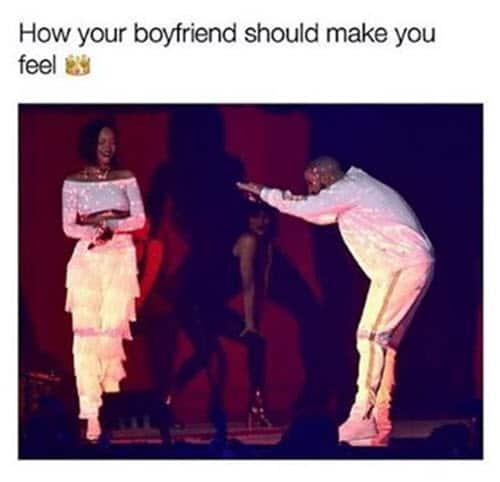 boyfriend make you feel meme