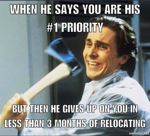 boyfriend priority meme