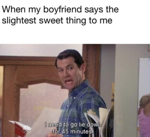 boyfriend sweet meme