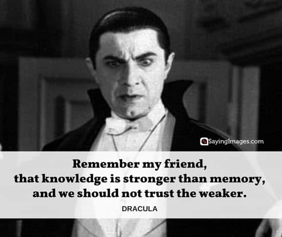 60 Bram Stoker S Dracula Quotes Sayingimages Com
