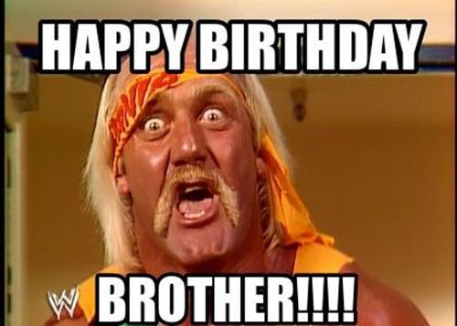 brother birthday happy meme
