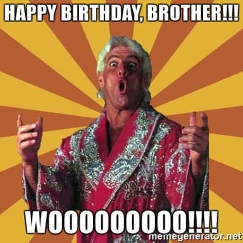 brother birthday wooooo meme