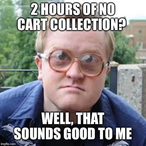 bubbles no cart collection meme