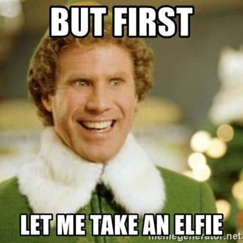 buddy the elf but first meme