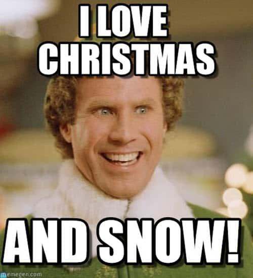 buddy the elf i love christmas meme