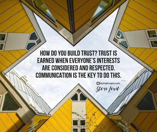 build trust quotes