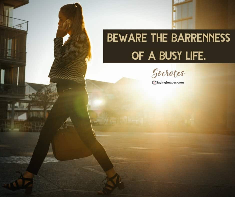 busy barrenness quotes