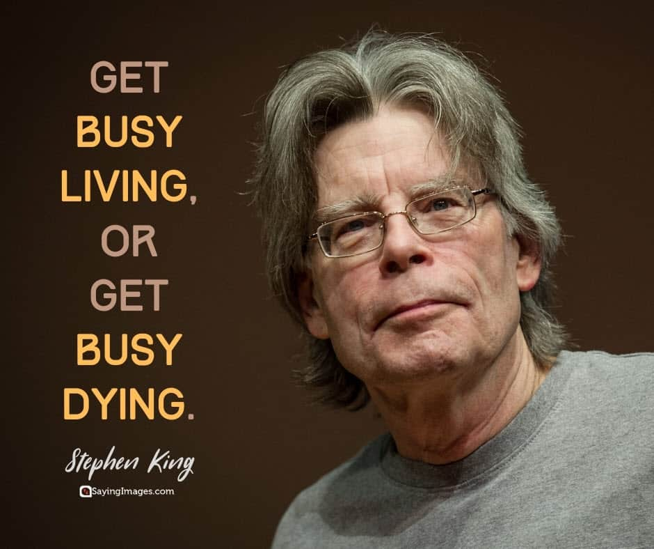 busy living quotes