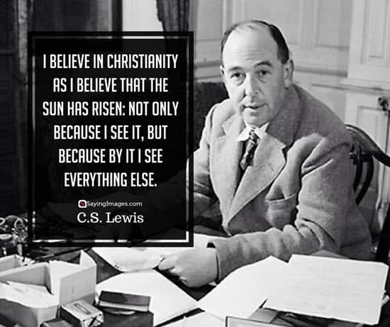 c s lewis faith quotes