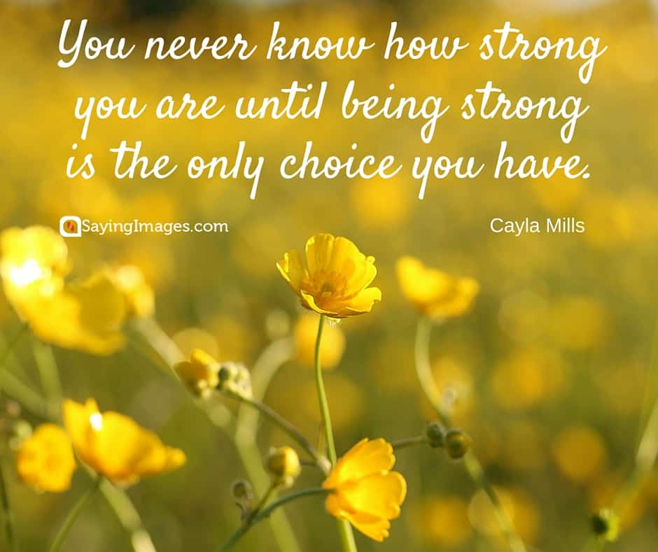 Quotes About Staying Strong Through Cancer Unique 48 Motivational And Inspirational Cancer Quotes SayingImages