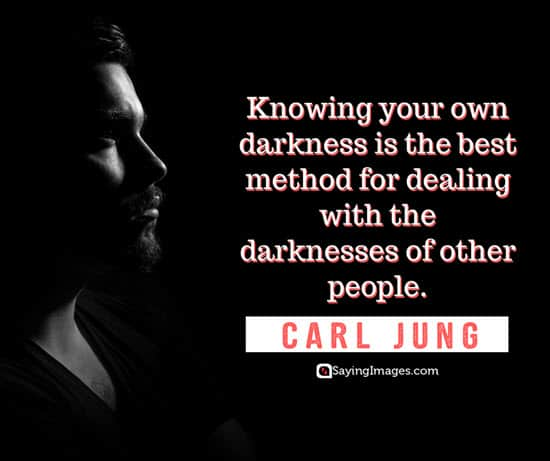 carl jung dark quotes